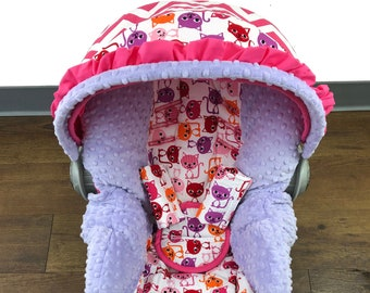 Kitty Infant Car Seat Cover