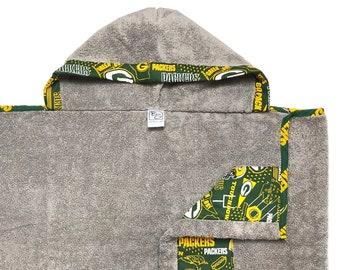 Green Bay Hooded Towel