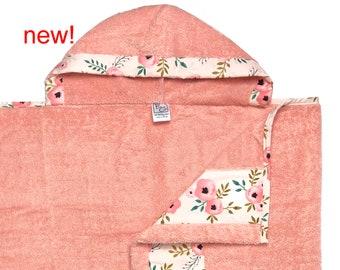 Sweet Bloom Hooded Towel