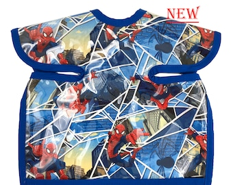 Spiderman Deluxe Apron Bib