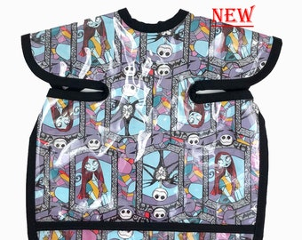 Jack and Sally Deluxe Apron Bib