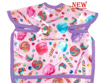 Candy Land Deluxe Apron Bib