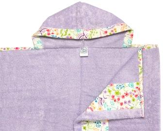 English Garden Hooded Towel