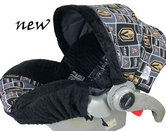 Golden Knight Infant Car Seat Cover