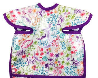 English  Garden Apron Bib