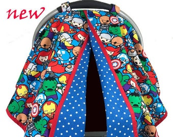 Baby Avengers Car Seat Tent -  Car Seat Canopy