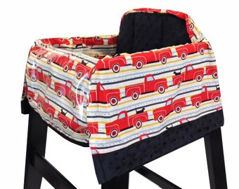 Best Friend's Ride High Chair Cover Restaurant