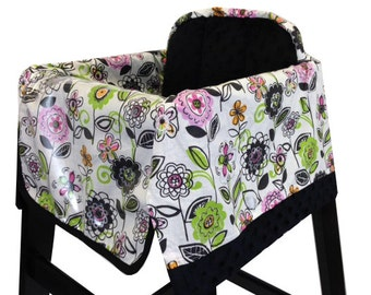 Midnight Garden High Chair Cover Restaurant