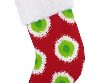 Ikats Christmas Stocking