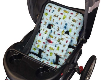 Bugs Stroller Liner - Reversible Stroller Pad
