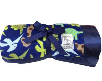 Dinosaur  Deluxe Minky Blanket