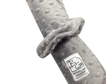Grey Minky Roll N Go Changing Pad