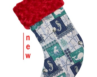 Nautical Christmas Stocking