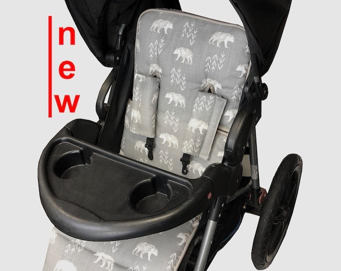 Featured listing image: Woodland Bear Stroller liner