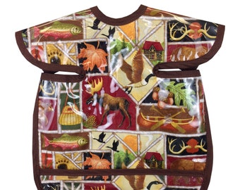 Northern Exposure Apron Bib