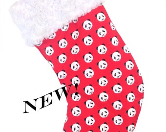 Panda Christmas Stocking