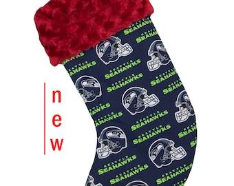Seahawks Christmas Stocking