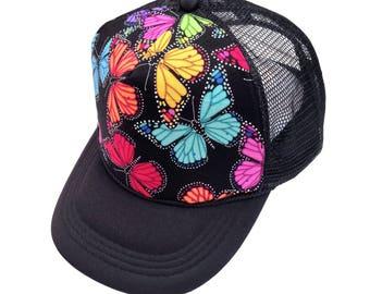 Butterfly Trucker Hat- Youth Size