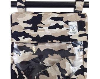 Gray Camo 3 Hour Bags