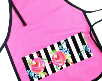 Rose Garden Kid's Apron