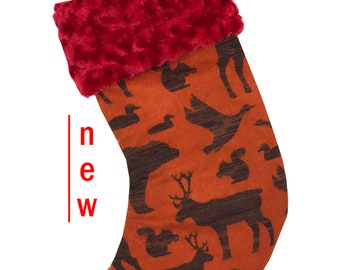 Hunting Christmas Stocking