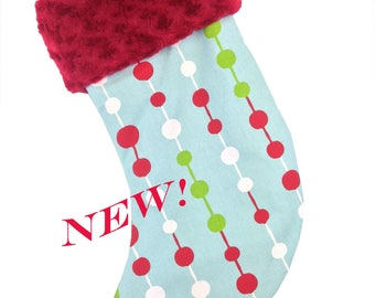 Holiday Beads Christmas Stocking