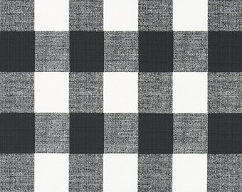 Buffalo Check Black/White Stroller Wagon Liner For Keenz