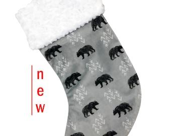 Cub Minky Christmas Stocking