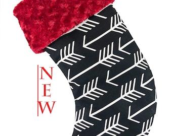Black Arrow Christmas Stocking
