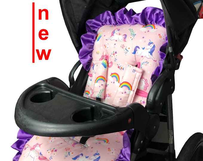 Featured listing image: Fancy Unicorn Stroller Liner