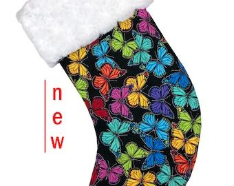 Butterflies Christmas Stocking