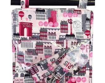 Hot Pink Paris 3 Hour Bag