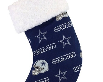Cowboys Christmas Stocking