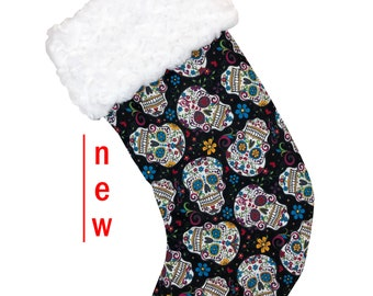 Sugar Skulls Christmas Christmas Stocking