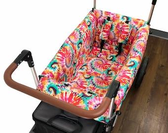 Tie Dye Stroller Wagon Liner for Keenz