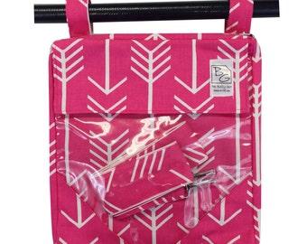 Hot Pink Arrows 3 Hour Bag