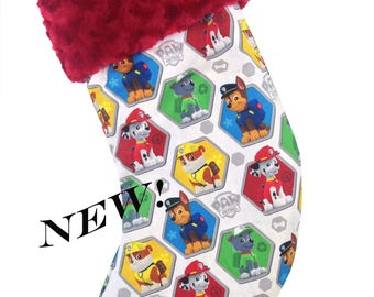 Paw Patrol Boys Christmas Stocking