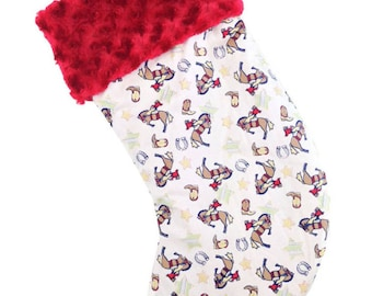 American Cowboy Christmas Stocking