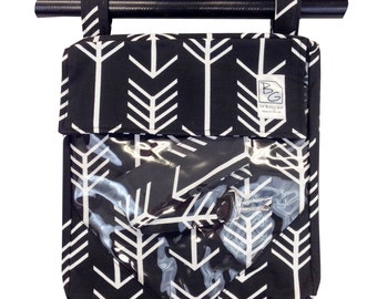 Black Arrows 3 Hour Diaper Bag
