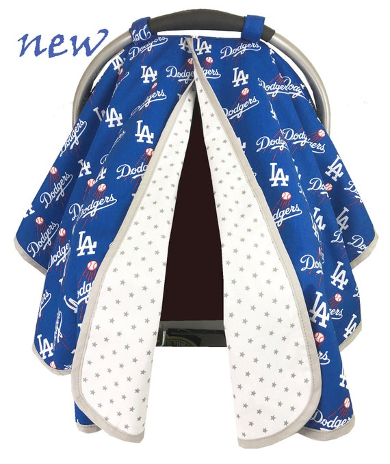 Dodgers Car Seat Tent Canopy, Dodgers Baby Car Seat Covers