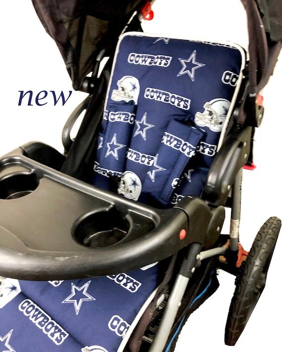 Reversible Stroller Pad Raiders Stroller Liner