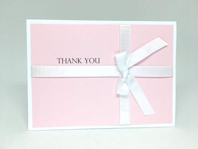 Bridal Shower Themed Bridal Shower Thank You | Baby Pink Thank You Cards Baby Shower Themed Baby Shower