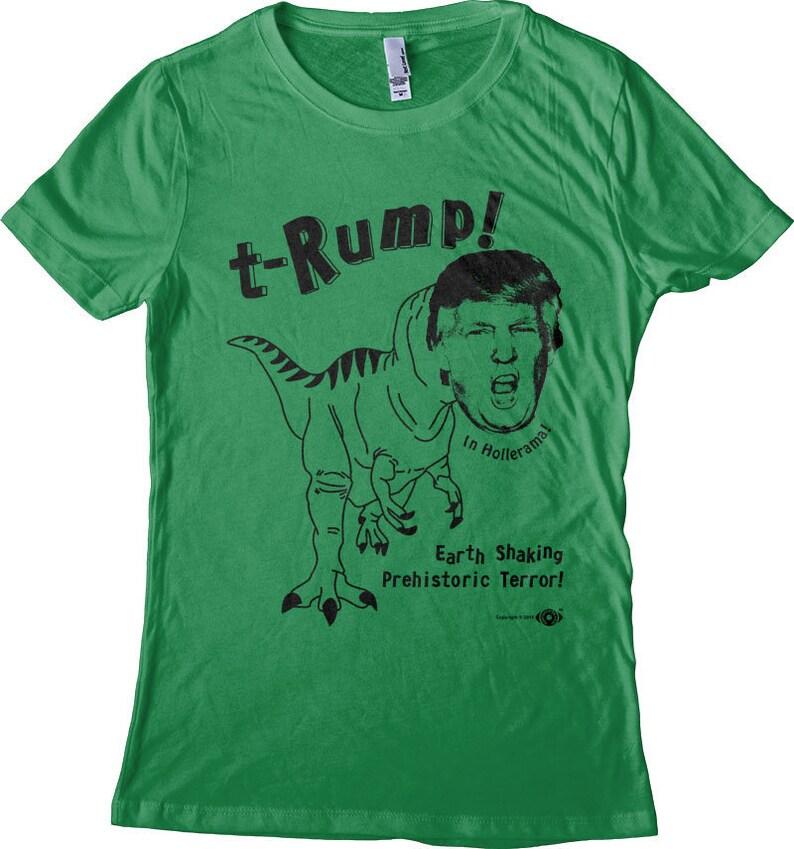 Anti Trump Shirt dinosaure t-croupe t-Rex T-shirt chemise  ebe4452a7dd