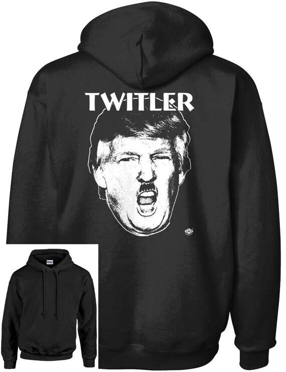 Hitleresque Twit in Chief Anti Trump Men/'s T-shirt Twitler