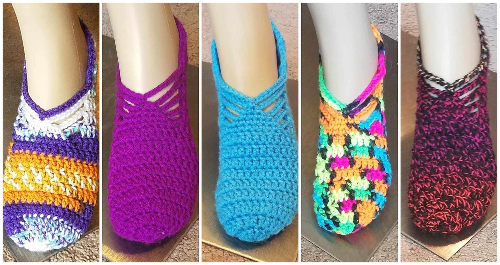 soft cozy women's slippers ballet slippers boho slippers lounge slippers ladies slippers handmade slippers crochet slippers