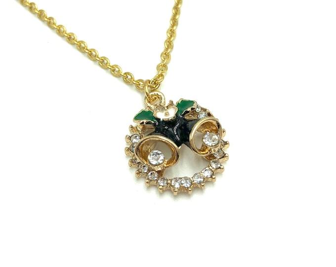 BELLE: christmas bells necklace