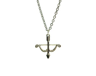 CROSSBOW: adorable stainless steel crossbow necklace