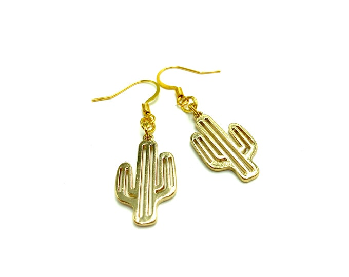 ARIZONA: lightweight cactus earrings