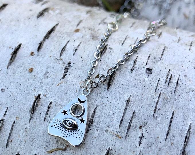 OUIJA: ouija evil eye sterling silver necklace