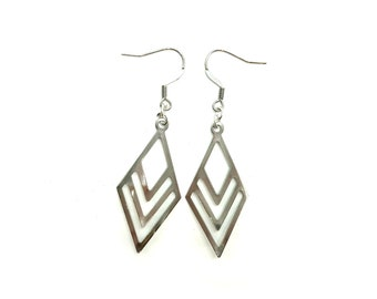 COLLEEN: lightweight stainless steel modern earrings